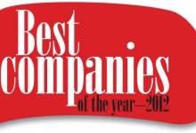 Best companies of the year — 2012