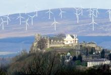 Шотландия прожила целый день только на энергии ветра