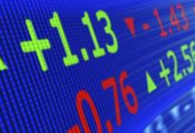 Небольшой рост зарегистрировала фондовая биржа в США