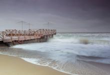 Сразу несколько одесских пляжей смыл шторм