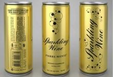 В алюминиевые банки начали разливать игристое вино в Молдове