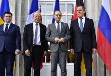 """О ходе переговоров в Берлине сообщили лидерам стран \""""нормандской четверки\"""""""