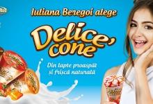Этим летом Юлиана Берегой выбирает Delice' cone!